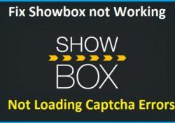 showbox captcha