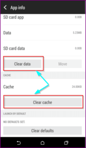showbox clear data and cache
