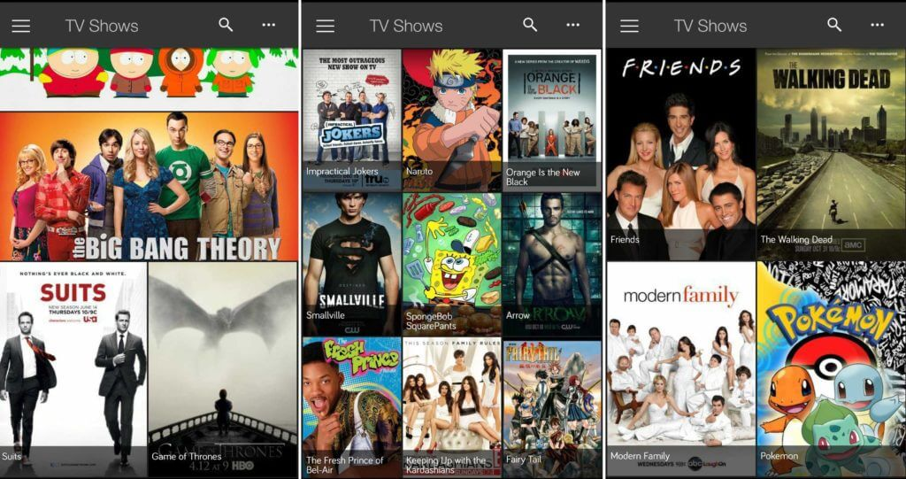 showbox for blackberry