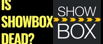 Showbox problems