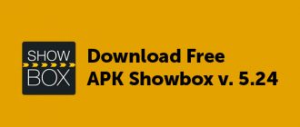 Download Free APK Showbox v. 5.24